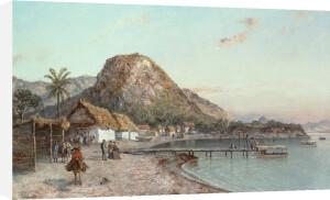 Jamaican Coastal View, 1875 by Ralph Albert Blakelock