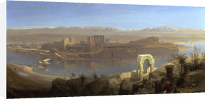 The Island of Philae, Nubia by David Roberts