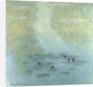 Nympheas, 1908 by Claude Monet