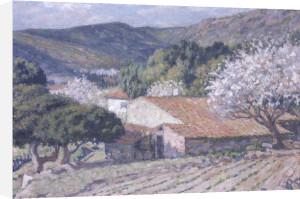Les Coteaux de St.Clair by Theo Van Rysselberghe