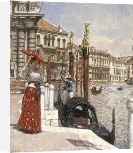 The Heat of the Day, Venice, 1893 by James Charles