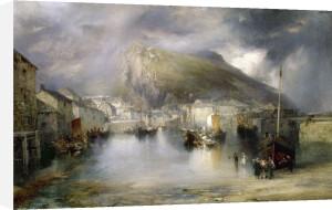Polperro, Cornwall, 1907 by Thomas Moran