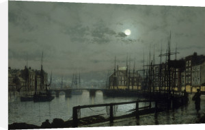 Whitby, 1883 by John Atkinson Grimshaw