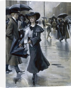 Stay Dry, 1903 by Christian Emil Rosenstand