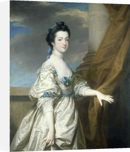 A Portrait of the Hon Elizabeth Booth by Francis Coates