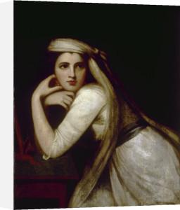 Portrait of Emma Hamilton as Bacchante by George Romney