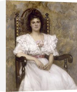 Mrs Harold Broadbent, 1898 by Robert Edward Morrison