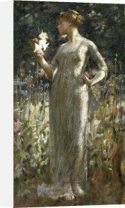 A King's Daughter (Girl with Lilies), 1889 by Theodore Robinson