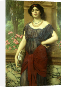 The Tambourine Girl, 1909 by John William Godward