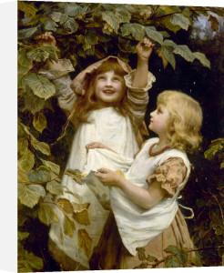 Picking Berries by Frederick Morgan