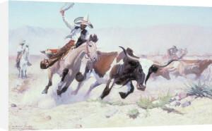 A Vaquero, c.1910 by William Herbert 'Buck' Dunton