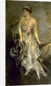 A Portrait of Princess Anastasia of Greece by Giovanni Boldini