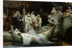 The Lady of Shalott by George Edward Robertson