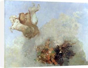 Quadrige (Le Char d'Apollon), c.1909 by Odilon Redon