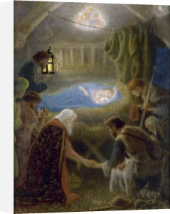 The Adoration by Arthur Hughes