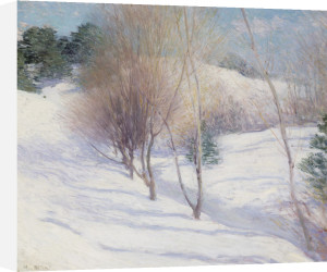 Winter in New Hampshire, c.1913-1914 by Willard Leroy Metcalf