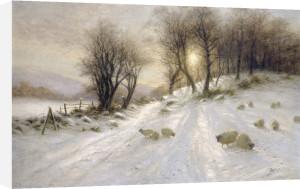 A Snowy Lane by Joseph Farquharson