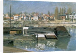 La Seine a Asnieres, 1873 by Claude Monet