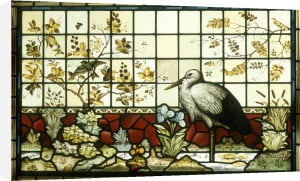 A Stained Glass Panel (One Of a Pair) by Anonymous