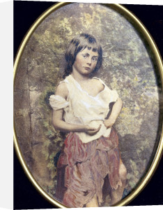 Alice Liddell as The Beggar Maid, Summer 1858 by Lewis Carroll