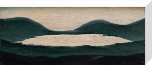 The Lake, 1951 by L S Lowry