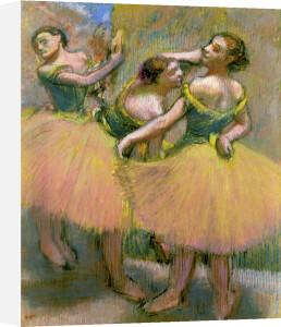 Trois Danseuses (Corsages Verts) by Edgar Degas