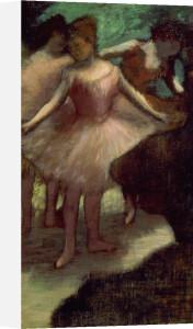 Trois Danseuses en Rose by Edgar Degas