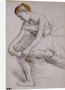 Danseuse Assise, c.1896 by Edgar Degas