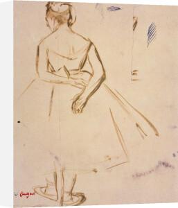 Danseuse Vue du Dos by Edgar Degas