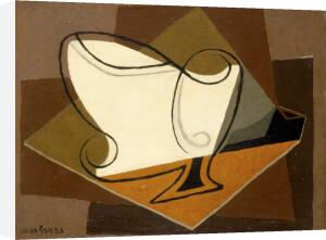 Bol, Verre et Pipe, 1926 by Juan Gris