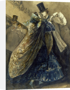 Le Bal a l'Opera by Constantin Guys