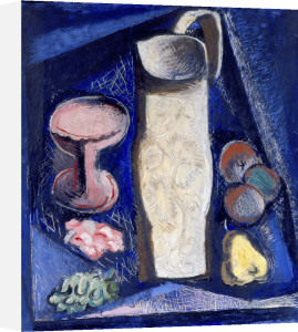 Still Life with White Jug by Alfred Justitz