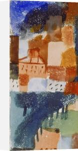Hauser mit Baumallee, 1915 by Paul Klee