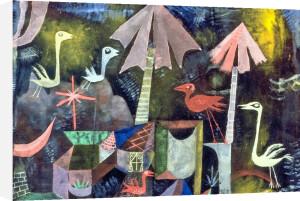Vogelkomodie, 1919 by Paul Klee