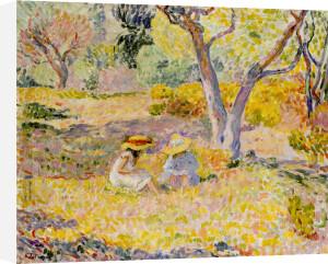 Fillettes sous les Oliviers, 1906 by Henri Lebasque