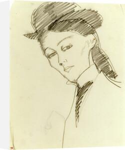 l'Amazone, c.1909 by Amedeo Modigliani