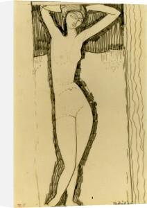 Caryatide de Face, Mains Derriere la Tete, 1901 by Amedeo Modigliani