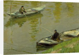 Les Deux Pecheurs, 1882 by Claude Monet