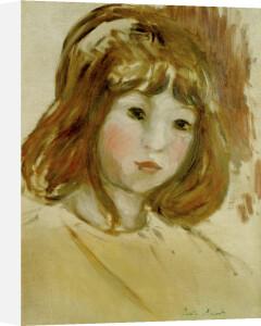 Portrait d'une Jeune Fille, c.1894 by Berthe Morisot