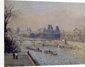 Le Louvre, Apres-Midi, 1902 by Camille Pissarro