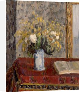 Le Vase de Fleurs, Tulipes et Genets,1900 by Camille Pissarro