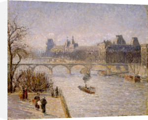 Le Louvre by Camille Pissarro