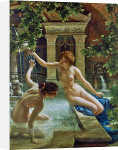 Water Babies, 1900 by Sir Edward John Poynter