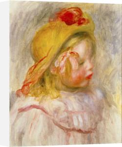 Coco en Chapeau de Paille by Pierre Auguste Renoir