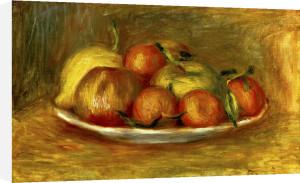 Nature Morte aux Mandarins, Pommes et Citron, 1912 by Pierre Auguste Renoir