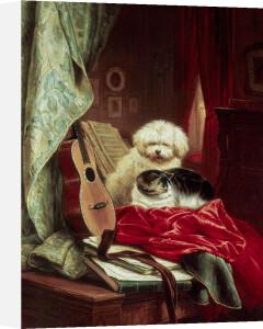 An Intermezzo by Henriette Ronner-Knip