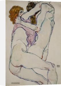 Umarung (Embrace), 1913 by Egon Schiele