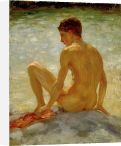 The Bather, 1923 by Henry Scott Tuke