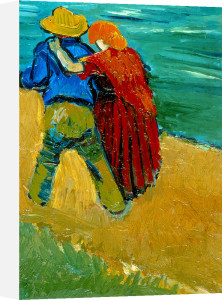 Eclogue en Provence - Un Couple d'Amoureux, 1888 by Vincent Van Gogh