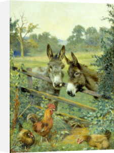 A Friendly Chat by Herbert William Weekes